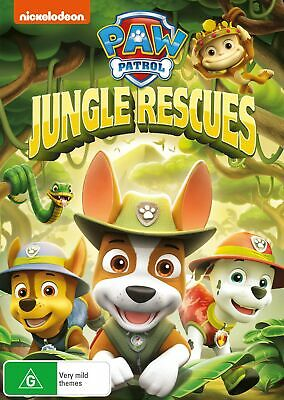 Paw Patrol Jungle Rescues DVD Region 4 NEW