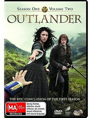 Outlander Season 1 Volume Two DVD Region 4 NEW
