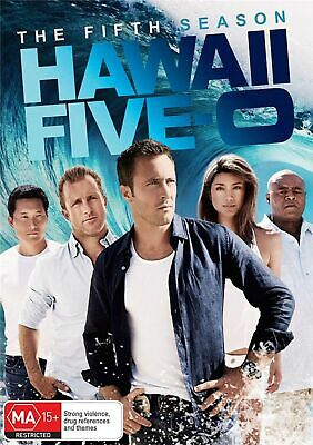 Hawaii Five 0 The Fifth Season 5 DVD Region 4 NEW