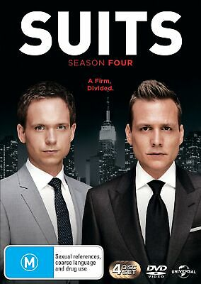 Suits Season 4 DVD Region 4 NEW