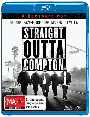Straight Outta Compton Directors Cut Blu-ray Region B NEW