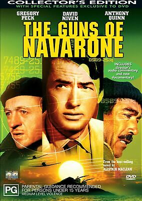 The Guns of Navarone DVD Region 4 NEW