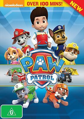 Paw Patrol DVD Region 4 NEW