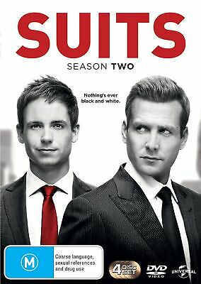 Suits Season 2 DVD Region 4 NEW