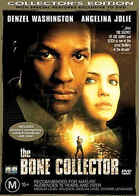 The Bone Collector DVD Region 4 NEW