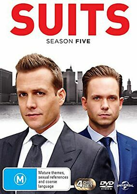 Suits Season 5 DVD Region 4 NEW