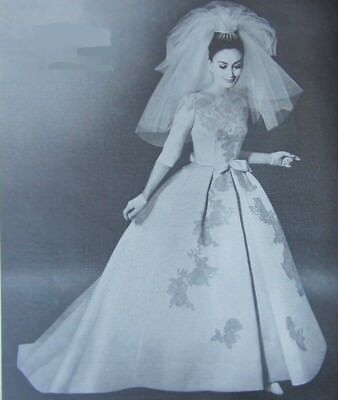 Vintage 1964 * The Bride's Magazine~ Fashion Bridal Gowns Wedding Bridesmaids