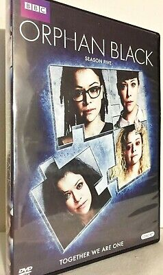 Orphan Black:The Complete Series, Seasons 1-5 (15-Disc Box Set)Tracking Included