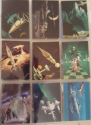 Complete Set BLUEPRINTS FROM THE FUTURE Comic Images 1994 Comics
