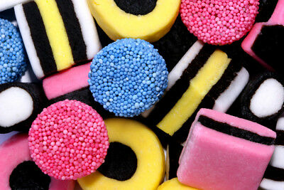 Liquorice Allsorts (English) 100g