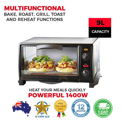 Sunbeam Convection Oven Electric Bench Counter Top Bake Grill Food Roaster