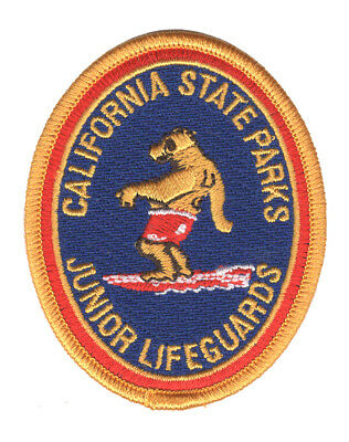 California State Parks - Junior Lifeguard - Patch