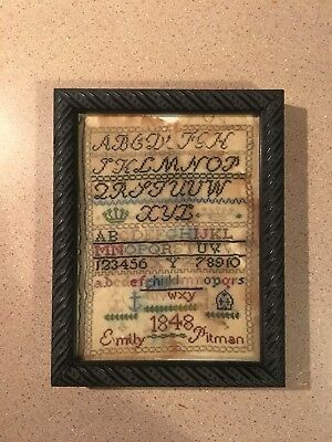 19th Century Antique Sampler