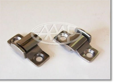 1932 1933 1934 DODGE GM PLYMOUTH OTHERS HOOD HINGE BRACKETS STAINLESS STEEL Pair