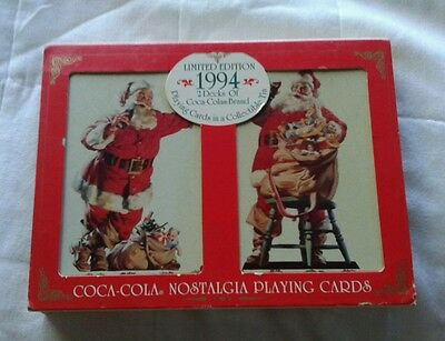 Coke-1994 Limited Edition Cards in Collectible Tin