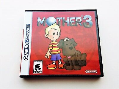 Mother 3 Game & Case - Nintendo Game Boy Advance GBA English Ver - Earthbound 2