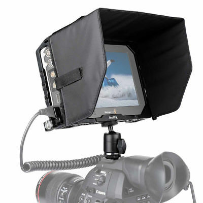 "SMALLRIG for Blackmagic Video Assist 7"" Monitor Cage with Sunhood Ballhead"