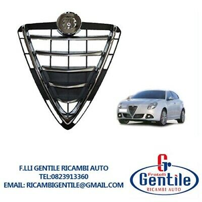 Grill Alpha Romeo Mito 2008 /> Shield Middle Chrome-Plated Mask Panel
