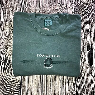 Foxwoods Resort Casino T-Shirt Comfort Colors Brand Size XL