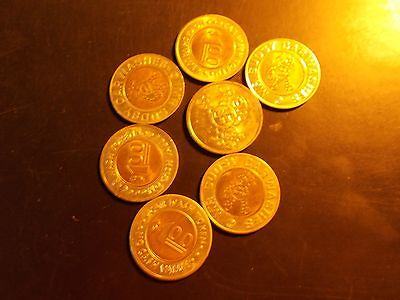 sudsy car wash 7ct tokens