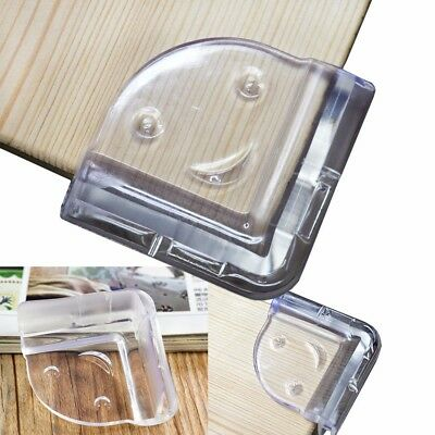 100Pcs Clear Table Corner Protectors Desk Edge Cushion Baby Safety Guard