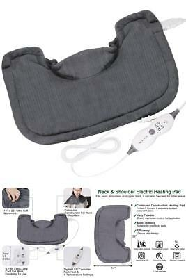 Warmer Therapy Neck Shoulder and Back Relief Polyster Electric Heating Heat Pad