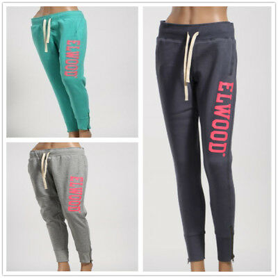 Elwood Ladies Huff and Puff Fleece Track Pants Sport Trousers Jogging RRP$79.99