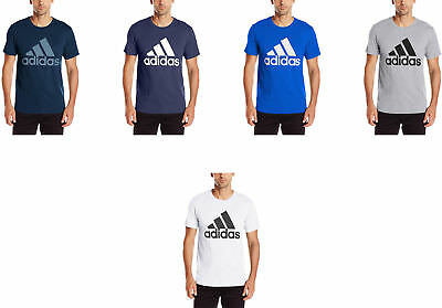 newest 20488 13919 adidas Mens Badge of Sport Graphic Tee, 6 Colors