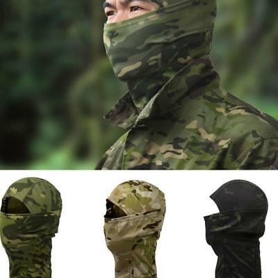 Tactical Bionic Camouflage Full Face Mask Scarf Balaclava Hat Camo Windpr Gift