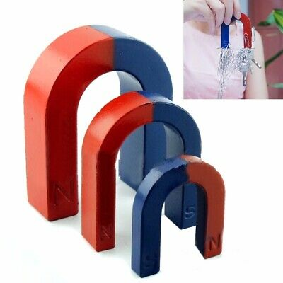 30-80mm School Kid Teaching Traditional U Shaped Horseshoe Magnet Stocking Tool