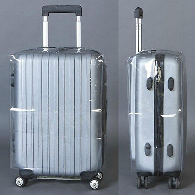 20''22''24''26''28'' Transparent Travel Luggage PVC Protector Suitcase Cover