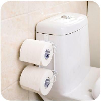 OVER WATER tank hanging Dual Toilet Roll Holder - £6.99 | PicClick UK