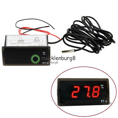 220V -50 ℃ ~ + 110 Test LED Digital Temperature Display Thermometer Aquarium
