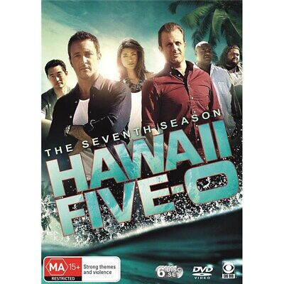 Hawaii Five 0 The Seventh Season 7 DVD Region 4 NEW