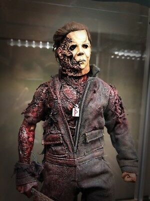 Ones Customs Custom Halloween BOO Face concept version Michael Myers 1/6 figure
