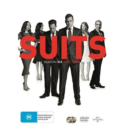 Suits Season 6 Part Two DVD Region 4 NEW