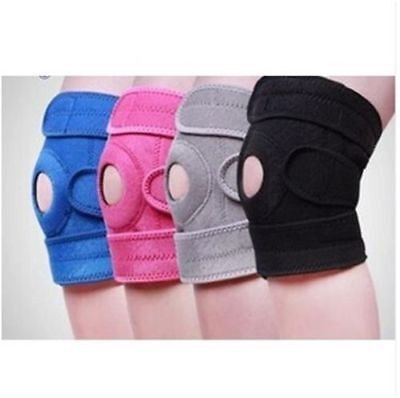 New Neoprene Knee Hinged Brace Open Patella Strap Support Injury Pain Relief