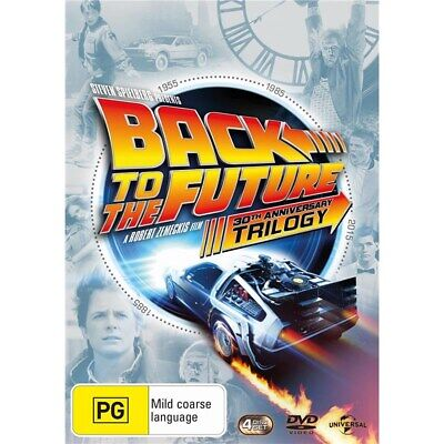 Back to the Future Trilogy Box Set DVD Region 4 NEW