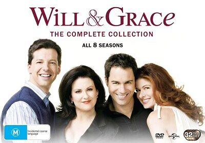Will and Grace The Complete Will and Grace DVD Region 4 NEW