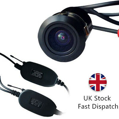 Wireless Car Reverse Rear View Backup 90° Camera w/ Transmitter & Receiver T060