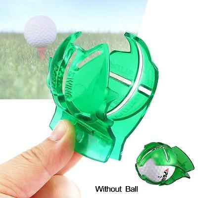 Golf Ball Line Clip Marker Pen Template Alignment Marks Tool Putting Aid New^AC