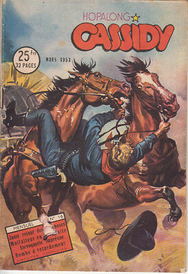 Hopalong Cassidy N° 16  Editions Imperia