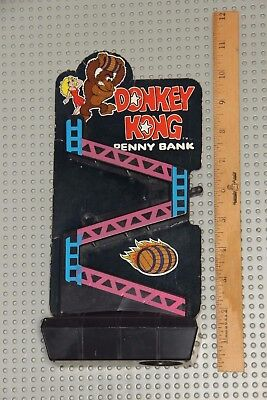 Vintage Donkey Kong Penny Bank Nintendo Collectable Advertising Merchandise