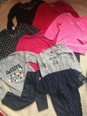 Carters Mixed 14 Pieces Lot Sets Toddler Girl 24 Months Long Sleeve Outfits