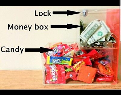 Honor Box Route Acrylic Honor Box Route Candy Vending Business With Locations.