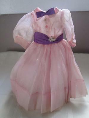 Vintage Madame Alexander Tagged CISSY Doll Pink DRESS with Slip & Panties
