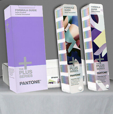 GP1601N - Pantone Color Formula Guide - COATED  & UNCOATED Sealed Books + Boxes