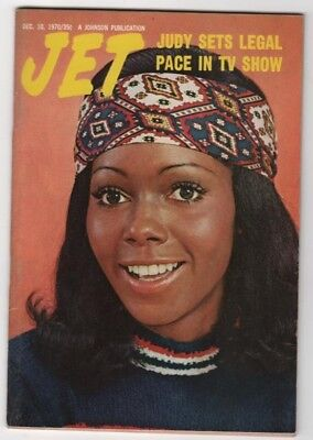 Jet Magazine - 1970 - Judy Sets Legal Pace In Tv Show - Black Americana