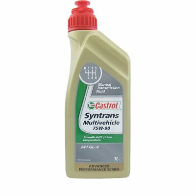 1 Litre Huile Castrol Syntrans Multivehicle 75w90