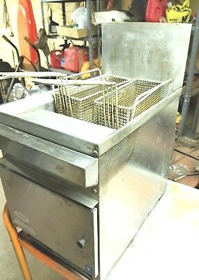 Cecilware Model GF-16A Counter Top Deep Fryer 16 LB.